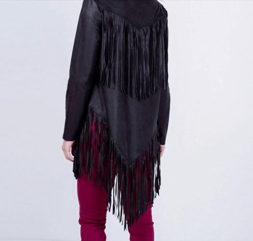 casaco renner franjas
